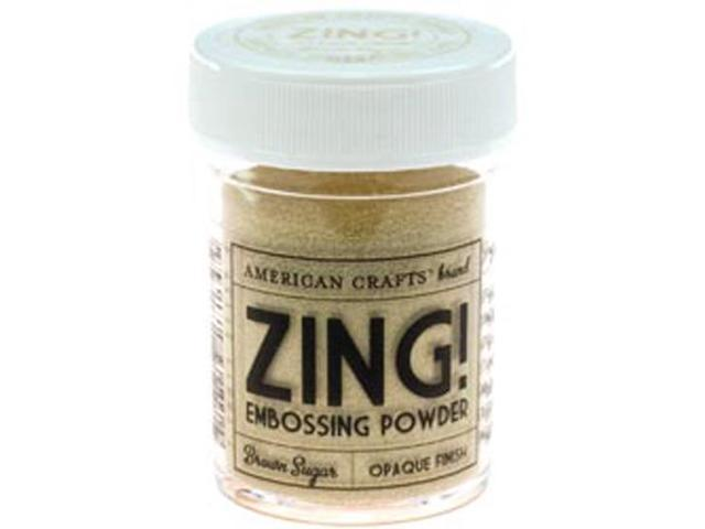Zing! Opaque Embossing Powder 1 Ounce-Brown Sugar