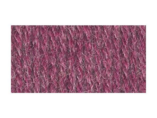 Wool-Ease Yarn -Dark Rose Heather