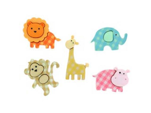 Dress It Up Embellishments-Baby Safari