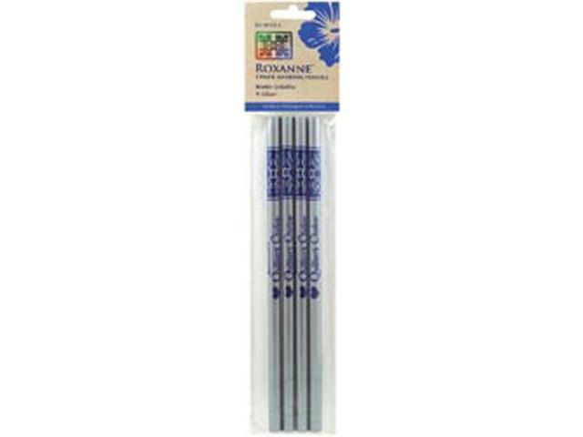 Water Soluble Chalk Marking Pencils 4/Pkg-Silver