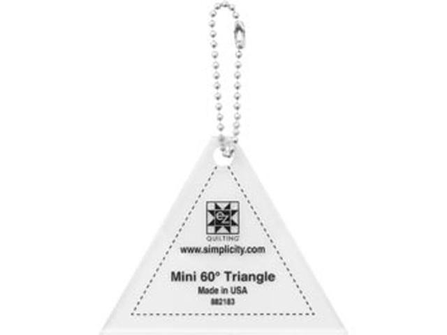 EZ Mini Tools 60 Degree Triangle-