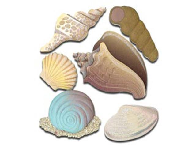 Jolee's Boutique Dimensional Stickers-Seashells