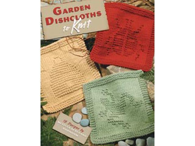 Leisure Arts-Garden Dishcloths To Knit