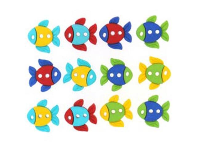 Dress It Up Embellishments-Sew Cute Fish