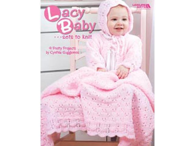 Leisure Arts-Lacy Baby Sets To Knit