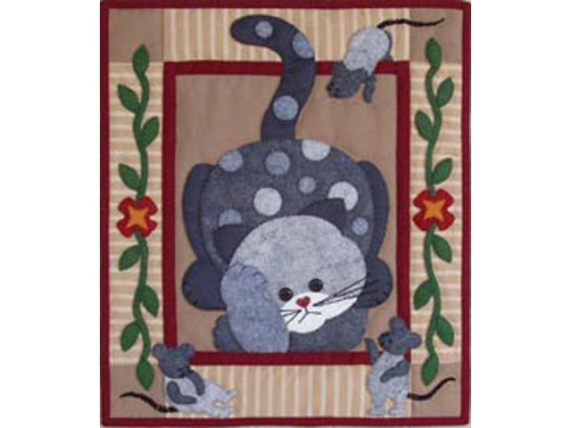 Spotty Cat Quilt Kit-15