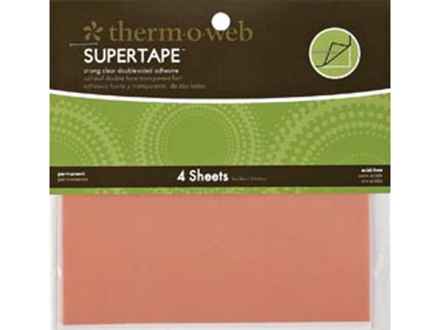 Super Tape Double-Sided Sheets 4/Pkg-5.5