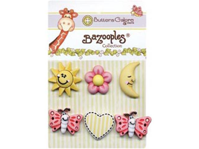 BaZooples Buttons-Sunny Day