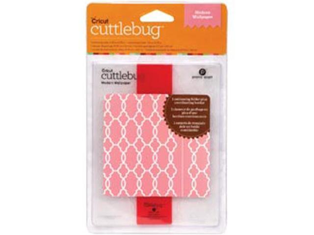 Cuttlebug A2 Embossing Folder/Border Set -Modern Wallpaper