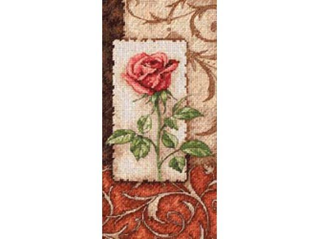 Gold Collection Petite Single Rose Counted Cross Stitch Kit -4