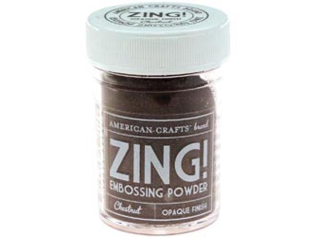 Zing! Opaque Embossing Powder 1 Ounce-Chestnut