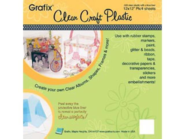 Craft Plastic Sheets 12