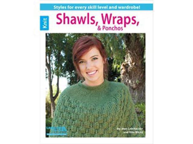 Leisure Arts-Shawls; Wraps; & Ponchos