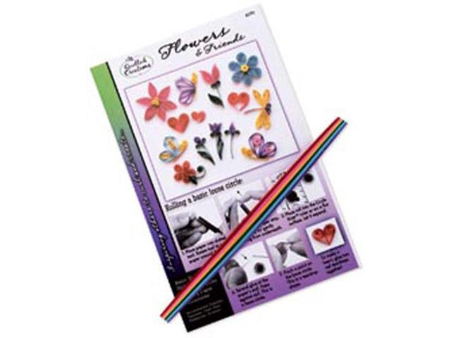 Quilling Kit-Flowers & Friends