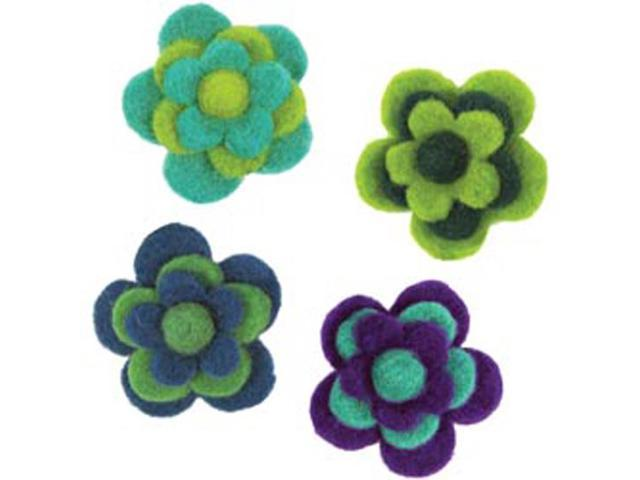 Feltworks Layered Cool Flowers-2