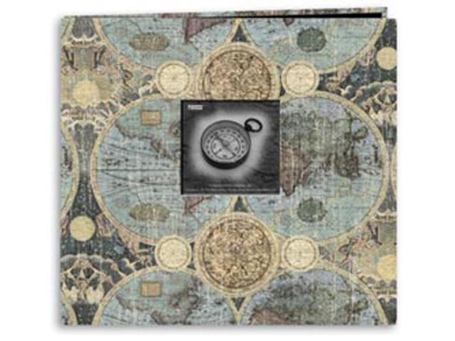 Travel Postbound Album With Photo Window 12