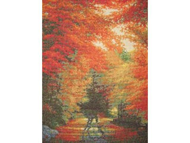 Autumn In New England Counted Cross Stitch Kit-16
