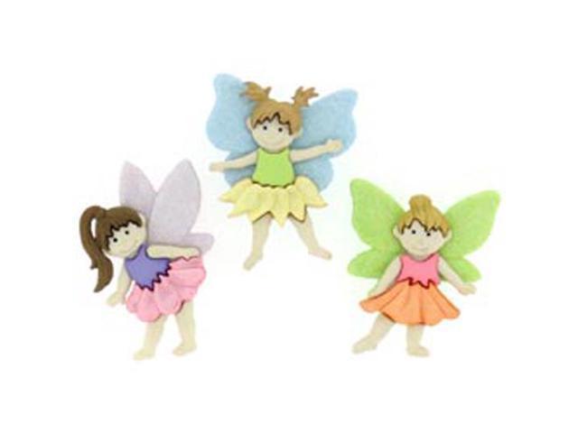 Dress It Up Embellishments-Flower Fairies