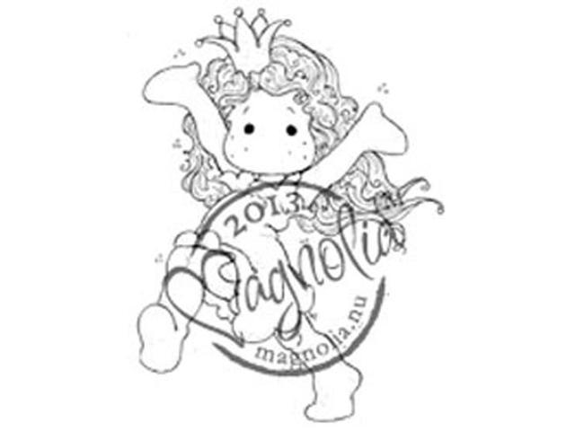 Once Upon A Time Cling Stamp-Happy Princess Tilda
