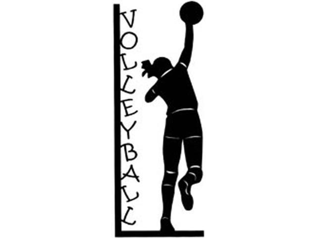 Cardstock Laser Die-Cuts-Volleyball Girl