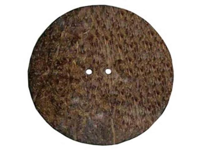 Handmade Coconut Button-Round 1-1/2