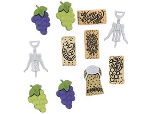 Dress It Up Embellishments-Uncorked