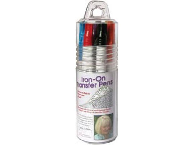Iron-On Transfer Pen 8/Pkg-Blk/Blu/Brn/Red/Orn/Grn/Pur/Yel