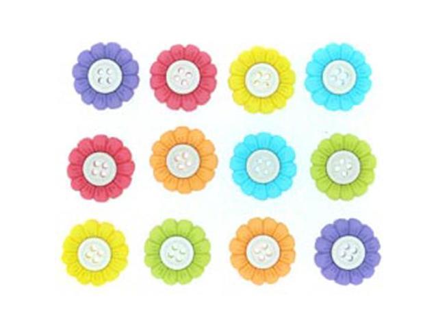 Dress It Up Embellishments-Sew Cute Sunflowers