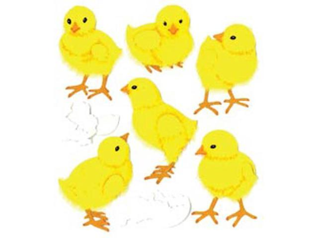 Jolee's Boutique Spring/Easter Stickers-Baby Chicks