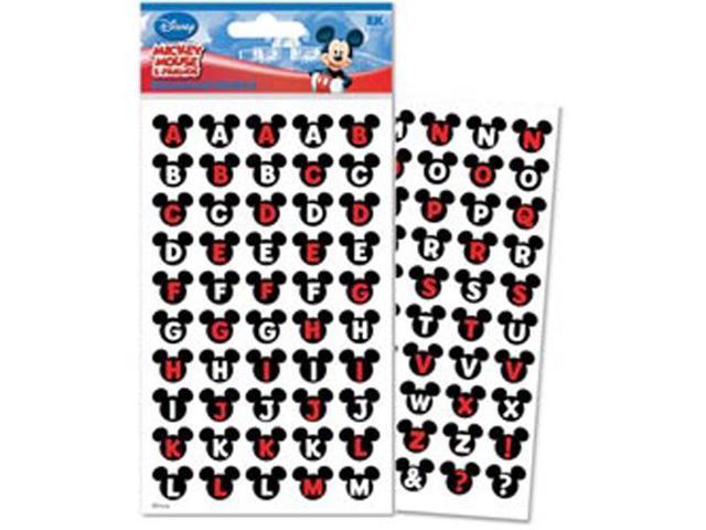 Disney Mickey & Friends Alphabet Dimensional Stickers-Ears