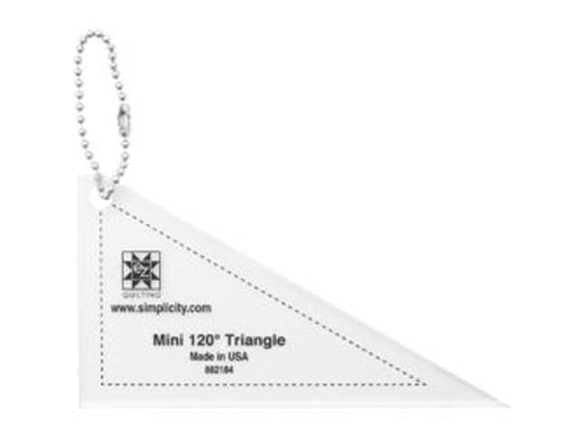 EZ Mini Tools 120 Degree Triangle-