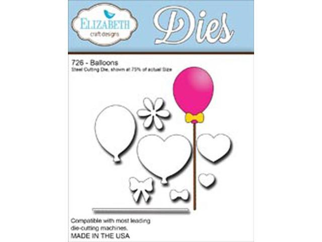 Elizabeth Craft Metal Die-Balloons