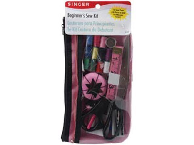 Beginner's Sewing Kit-Pink/Black