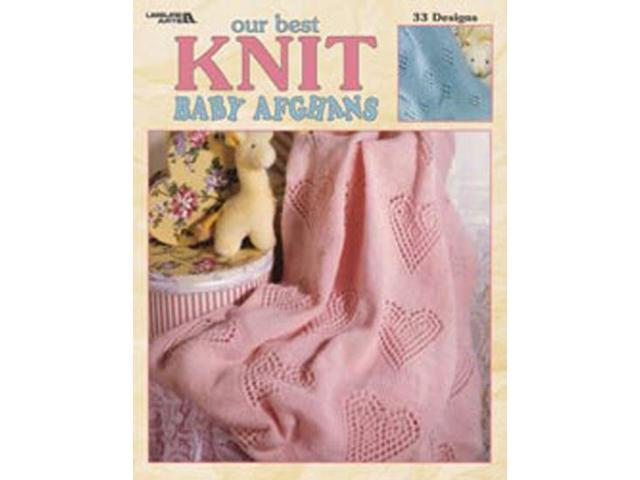 Leisure Arts-Our Best Knit Baby Afghans