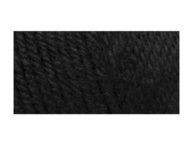 Red Heart Soft Touch Yarn-Black