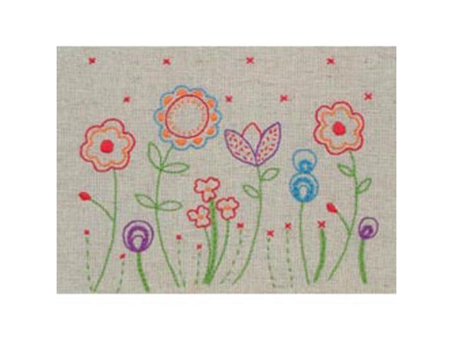 Fleur Free Style Embroidery Kit-6