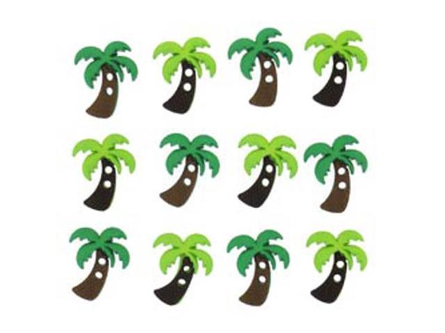 Dress It Up Embellishments-Palm Trees