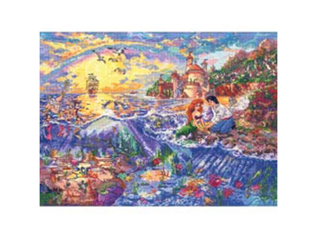 Disney Dreams Collection By Thomas Kinkade Little Mermaid   -16
