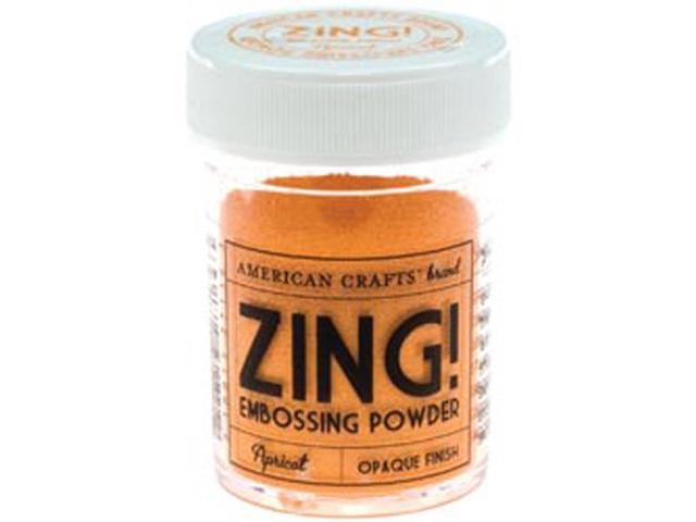 Zing! Opaque Embossing Powder 1 Ounce-Apricot