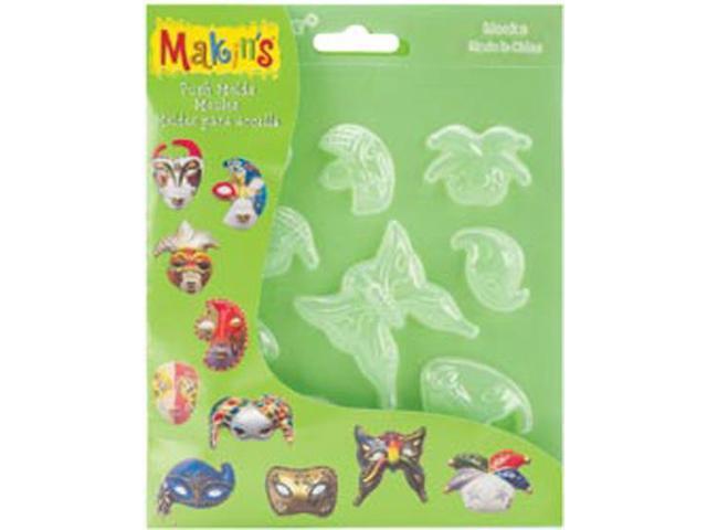 Makin's Clay Push Molds-Masks
