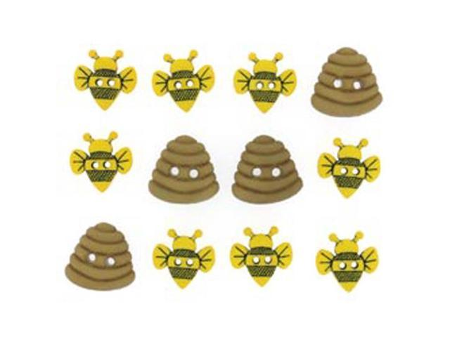 Dress It Up Embellishments-Sew Cute Bumble Bees