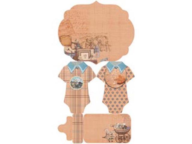 Baby Bear Journal Pre-Cuts Packets; Each W/12 Designs-5 Packets Per Box
