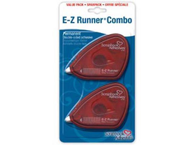 E-Z Runner Permanent Tape 28 Feet 2/Pkg-