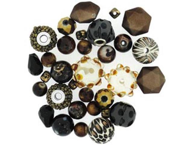 Design Elements Beads 28 Grams-Animal Allure