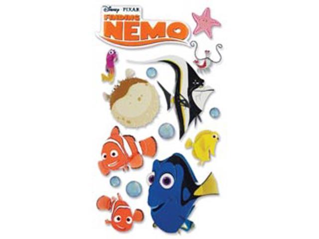 Disney Le Grande Dimensional Sticker-Finding Nemo - Nemo