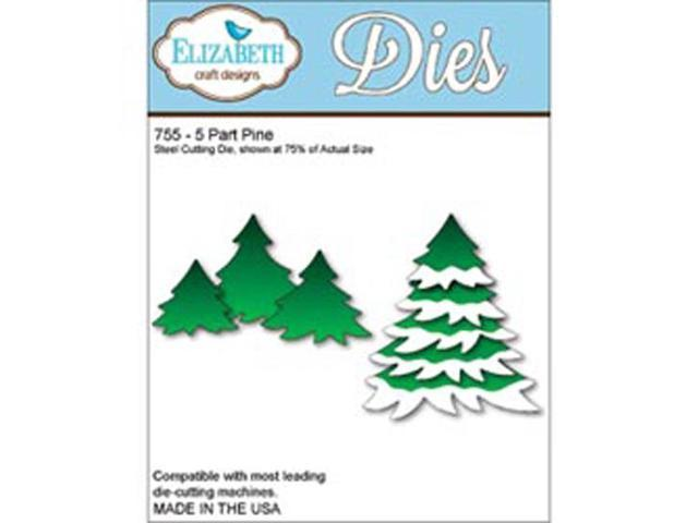 Elizabeth Craft Metal Die-5-Part Pine