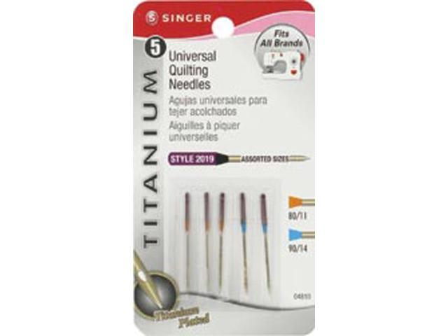 Universal Quilting Needles -Size 80/11 (3) & 90/14 (2)
