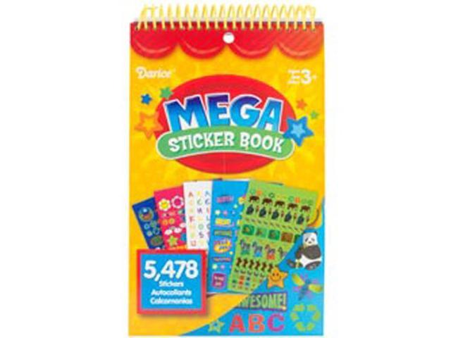 Mega Sticker Book-Teacher