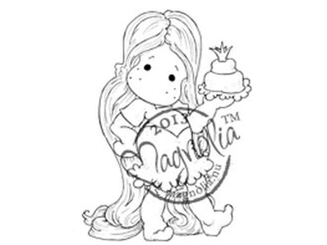 Once Upon A Time Cling Stamp-Tangle Tilda