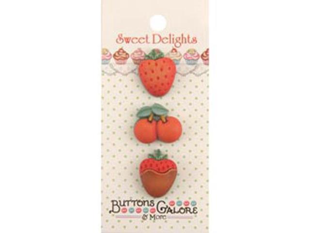 Sweet Delights Buttons-Mixed Fruit